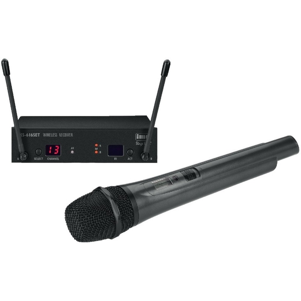 Handheld radio microphone system 100 channels 672-697 MHz
